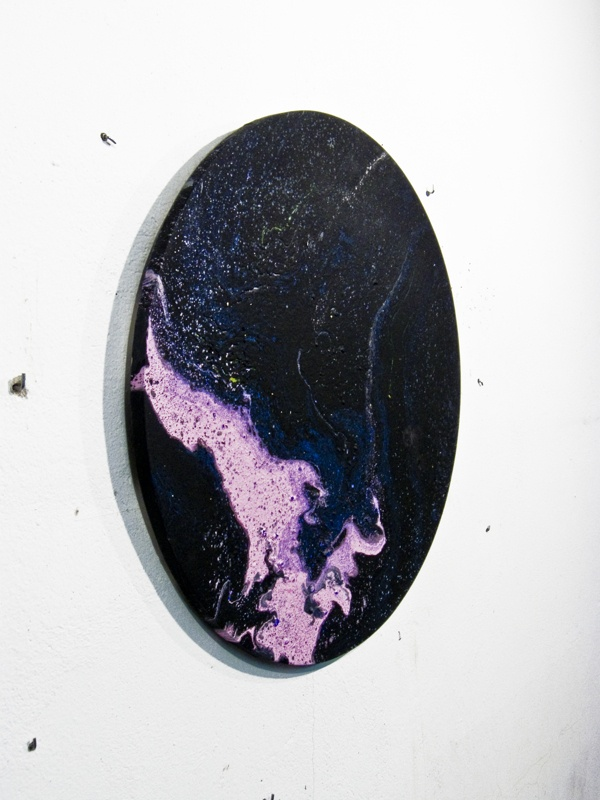 POUR PAINTING by Azucena González, via Behance #marble #porpainting #contemporany #art
