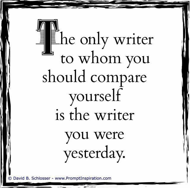I think yesterday's writer was better than today's writer. LOL