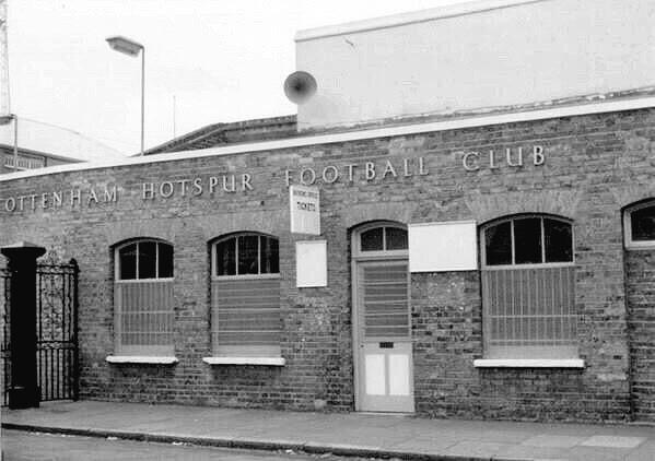 Tottenham Hotspur ticket office.