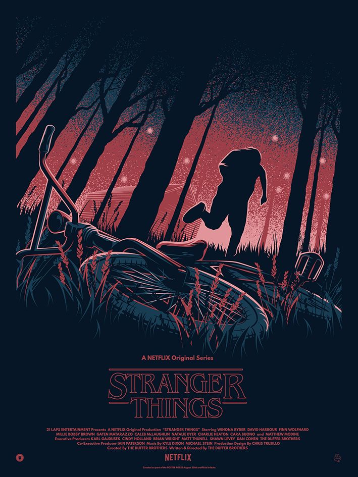 Below you will find a compilation of awesome 'Stranger Things' fan art pieces that I really wanted to share here on Inspiration Hut. If you haven't heard of i