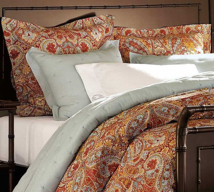 Pottery Barn Harper Paisley Bedding Then I D Have To Get