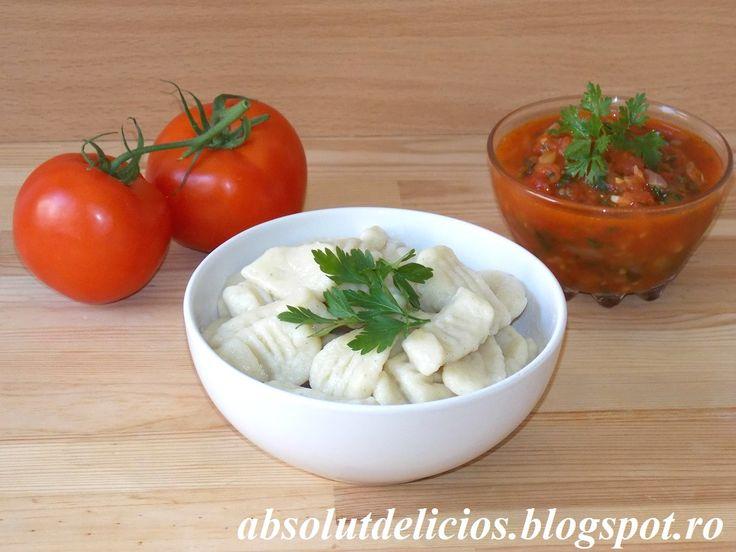 Gnocchi de cartofi, reteta italiana de gnocchi, cum se fac gnocchi, ce sunt gnocchi