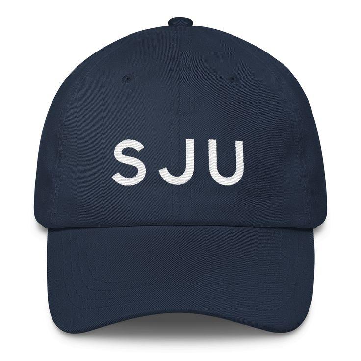 SJU San Juan Airport Code Classic Dad Cap