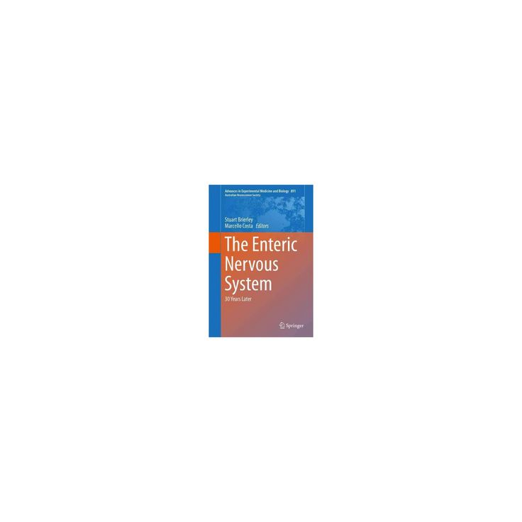 Enteric Nervous System : 30 Years Later (Hardcover)