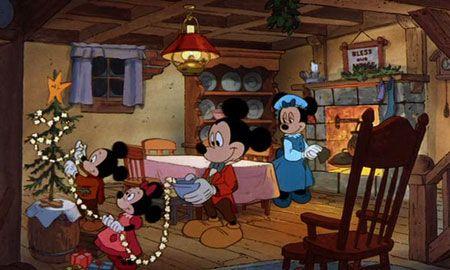 my favorite Christmas cartoon as a kid: Mickey's Christmas Carol by Disney 1983