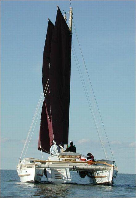 Tiki 38 Goff Nautical Dreams Tall Ships Amp Wharram Cats Boat Catamaran Sailing