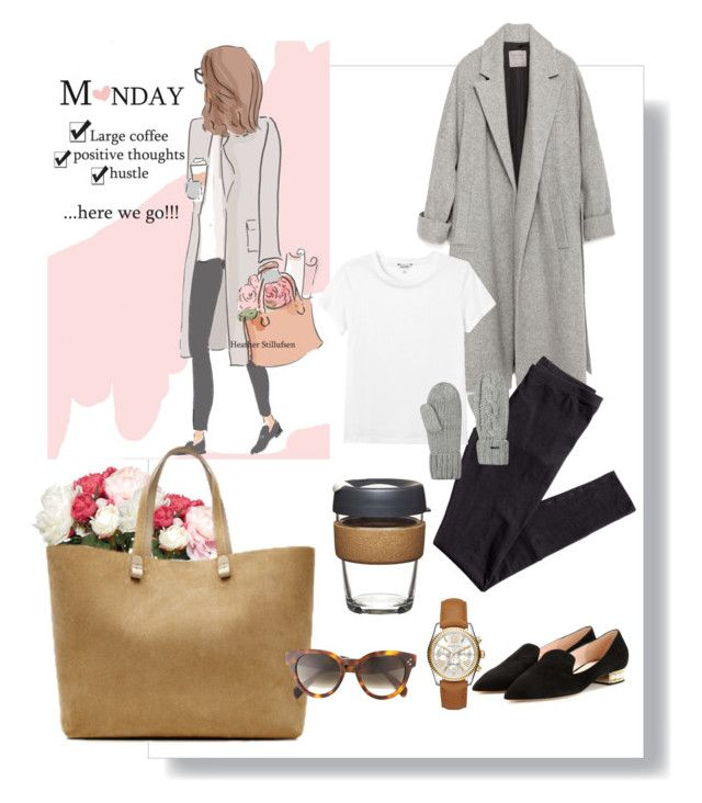 """Monday Spirit "" by chevy-mona-adiwar on Polyvore featuring OKA, Nicholas Kirkwood, Victoria Beckham, CÉLINE, Zara, H&M, Monki, KeepCup, Target and Michael Kors"