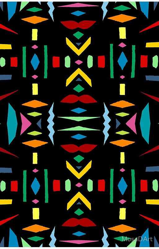 colourful Shape Pattern Available to buy on… iPhone & iPod Cases Samsung Galaxy Cases