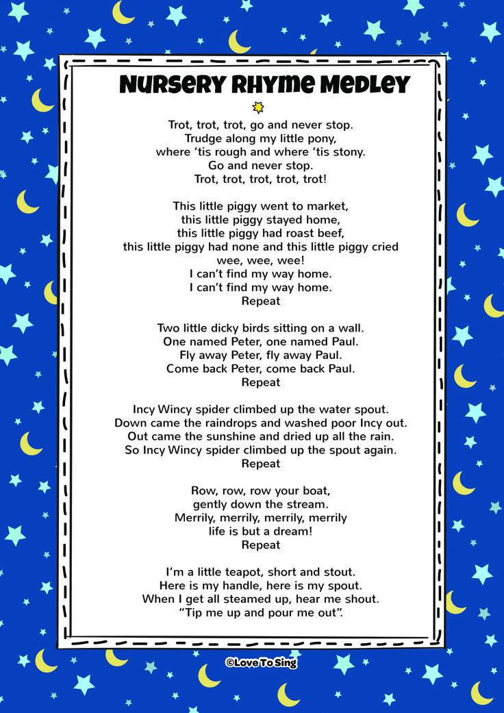 Lyric birds courting song lyrics : 56 best Nursery Rhymes images on Pinterest