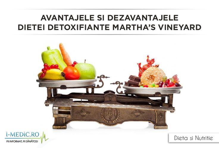 Asistenta si doctorul naturopatic Roni DeLuz este cea care a creat dieta detoxifianta Martha's Vineyard. DeLuz spune ca dieta a fost creata cu scopul original de a curata si hrani organismul. Dieta este menita sa curete sistemul digestiv, sa sporeasca sistemul imunitar, sa reduca celulita si sa imbunatateasca acuitatea mentala.  http://www.i-medic.ro/diete/avantajele-si-dezavantajele-dietei-detoxifiante-marthas-vineyard