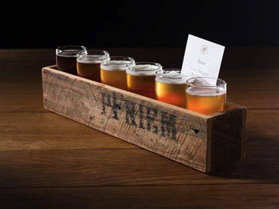 Tasting tray from PFRIEM - Hood River, OR.