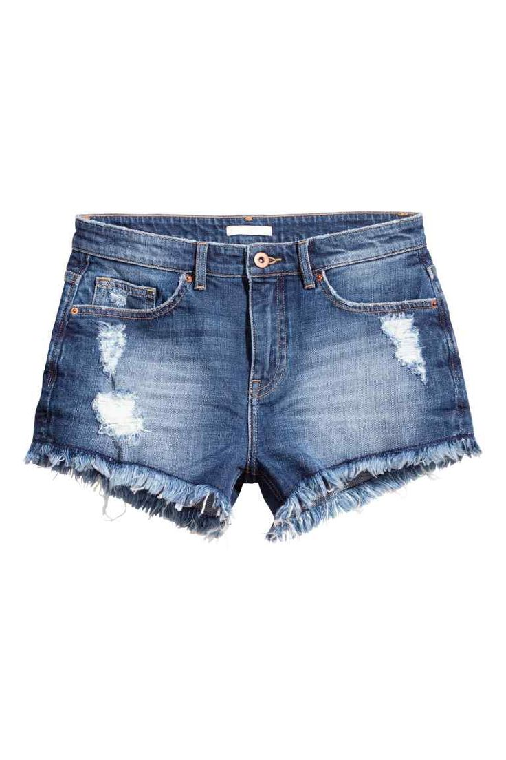 Shorts in jeans consumati | H&M