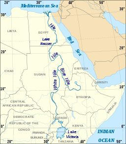 Nile River On World Map 57 best images ...