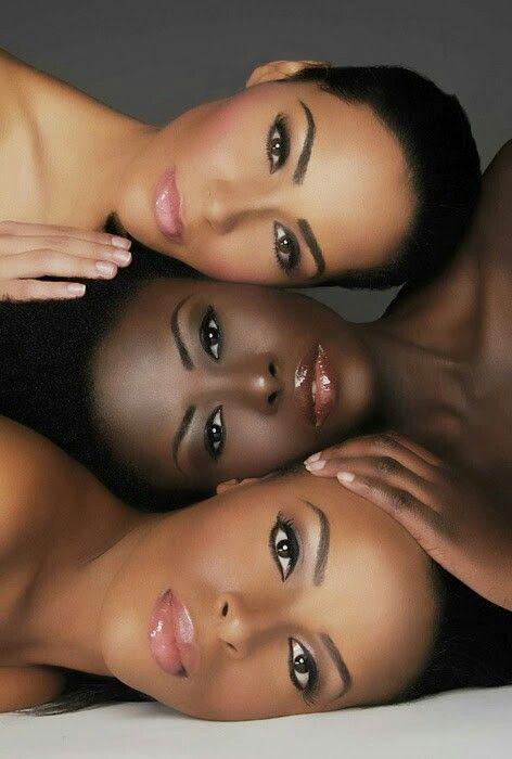Makeup African American Women❤