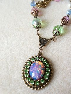 Magic Gypsy: vintage opal glass