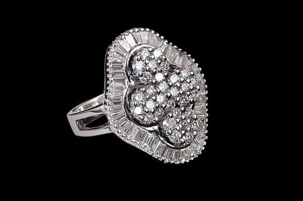 Diamond ring  by PP Jewellers
