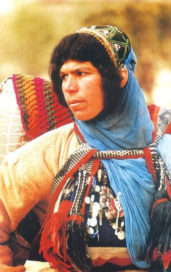 The Bakhtiari are a tribal confederation of primarily Luri speaking people in Southwest Iran.