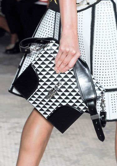The Spring 2013 Accessories Report - Black and White - Proenza Schouler