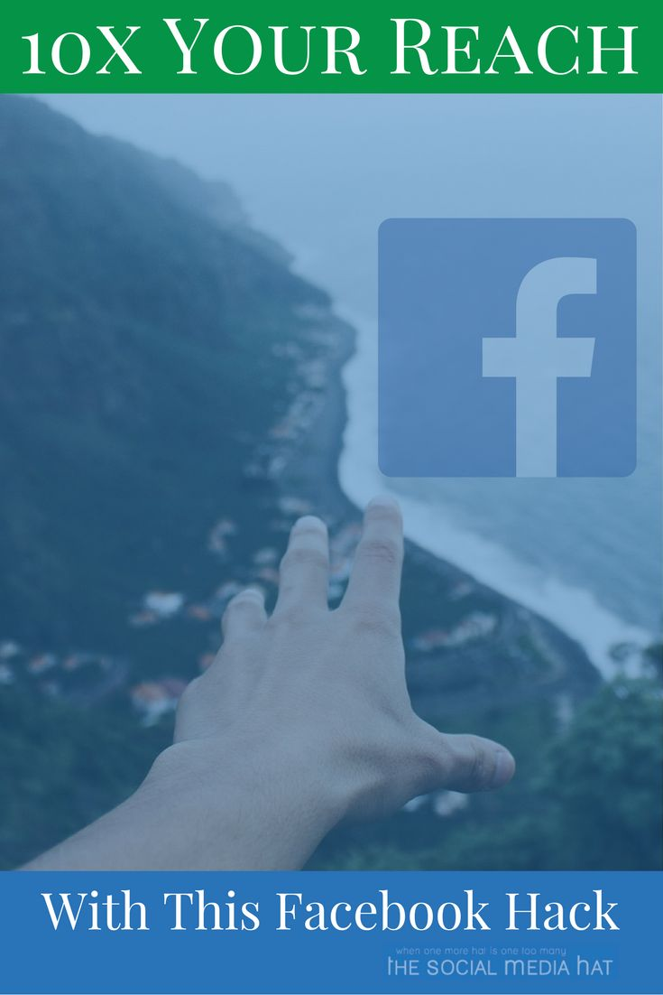 If you're like most businesses using a Facebook Page, the vast majority of your posts reach just a fraction of your fans. The good news is, I've found a way to turn the tides, and get back some of your hard-earned fan exposure! | https://www.thesocialmediahat.com/article/facebook-hack-will-10x-your-reach via @mikeallton