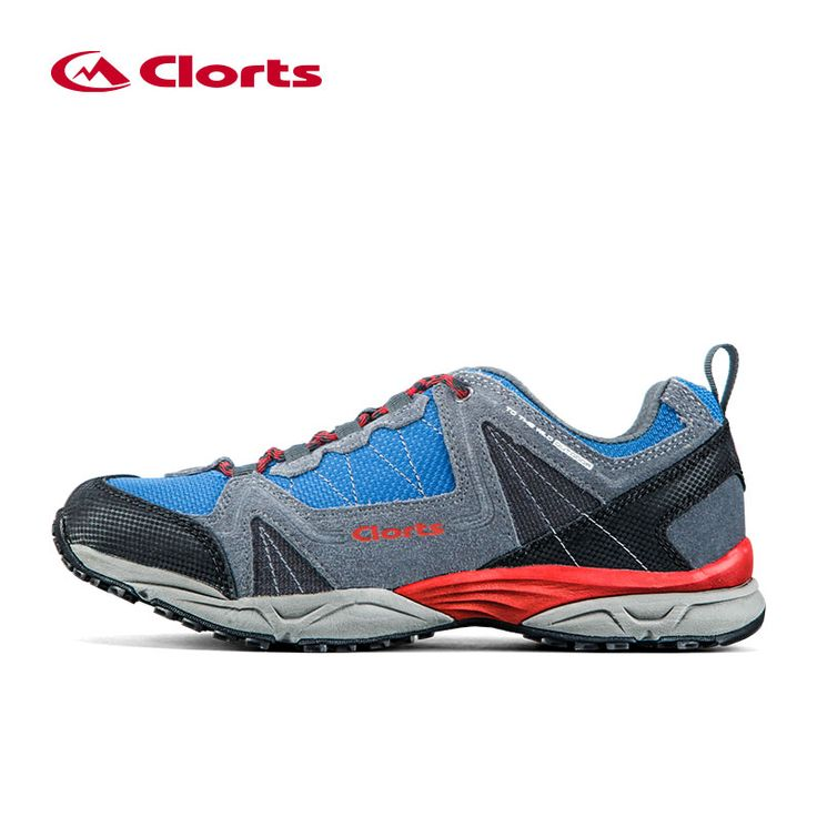 Clorts Man Hiking Shoes Outdoor Trekking Shoes Suede Leather Climbing Shoes Breathable Hike Shoes for Men Mountain 3D028A/B