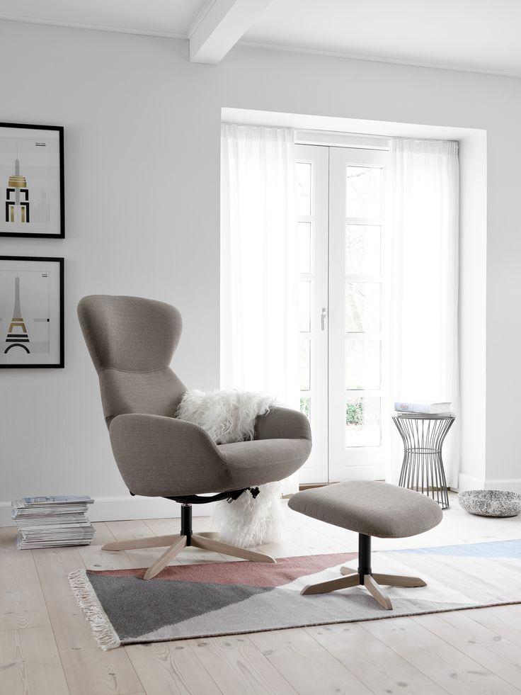 BoConcept Athena Sessel Mit Wire Hocker Boconcept Scandinaviandesign Interiordesign Interior Design