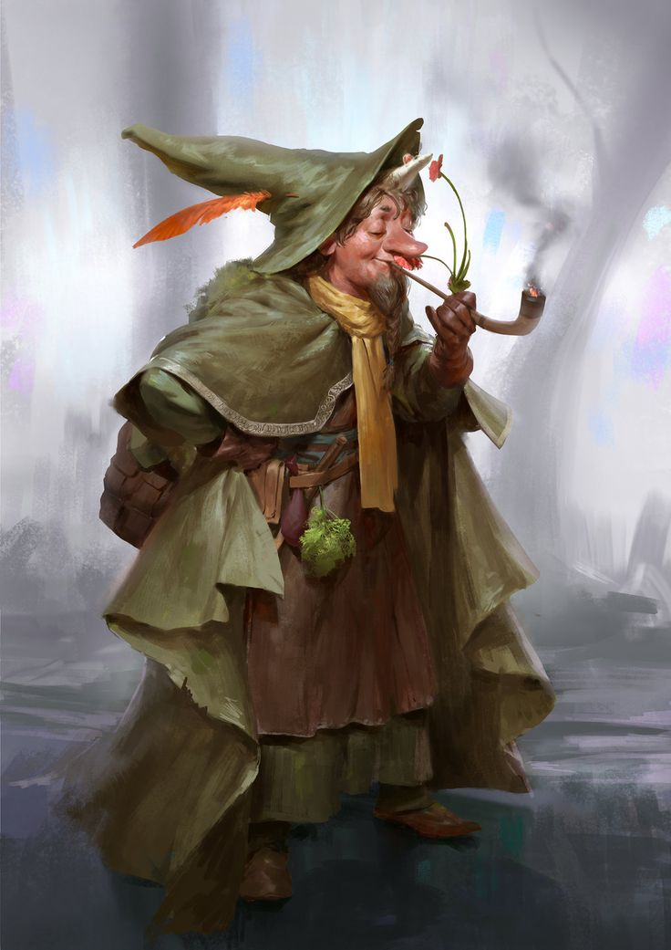 Mumrik by Mischeviouslittleelf gnome halfling wizard warlock sorcerer mouse pipe armor clothes clothing fashion player character npc | Create your own roleplaying game material w/ RPG Bard: www.rpgbard.com | Writing inspiration for Dungeons and Dragons DND D&D Pathfinder PFRPG Warhammer 40k Star Wars Shadowrun Call of Cthulhu Lord of the Rings LoTR + d20 fantasy science fiction scifi horror design | Not Trusty Sword art: click artwork for source