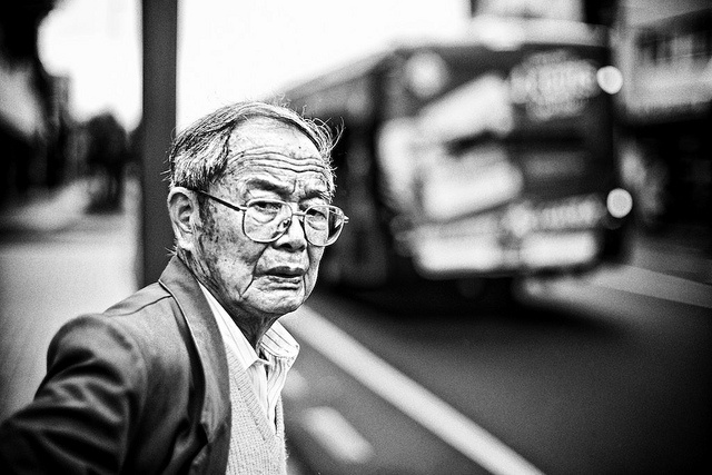 Bespectacled Disdain by J Howe, via Flickr