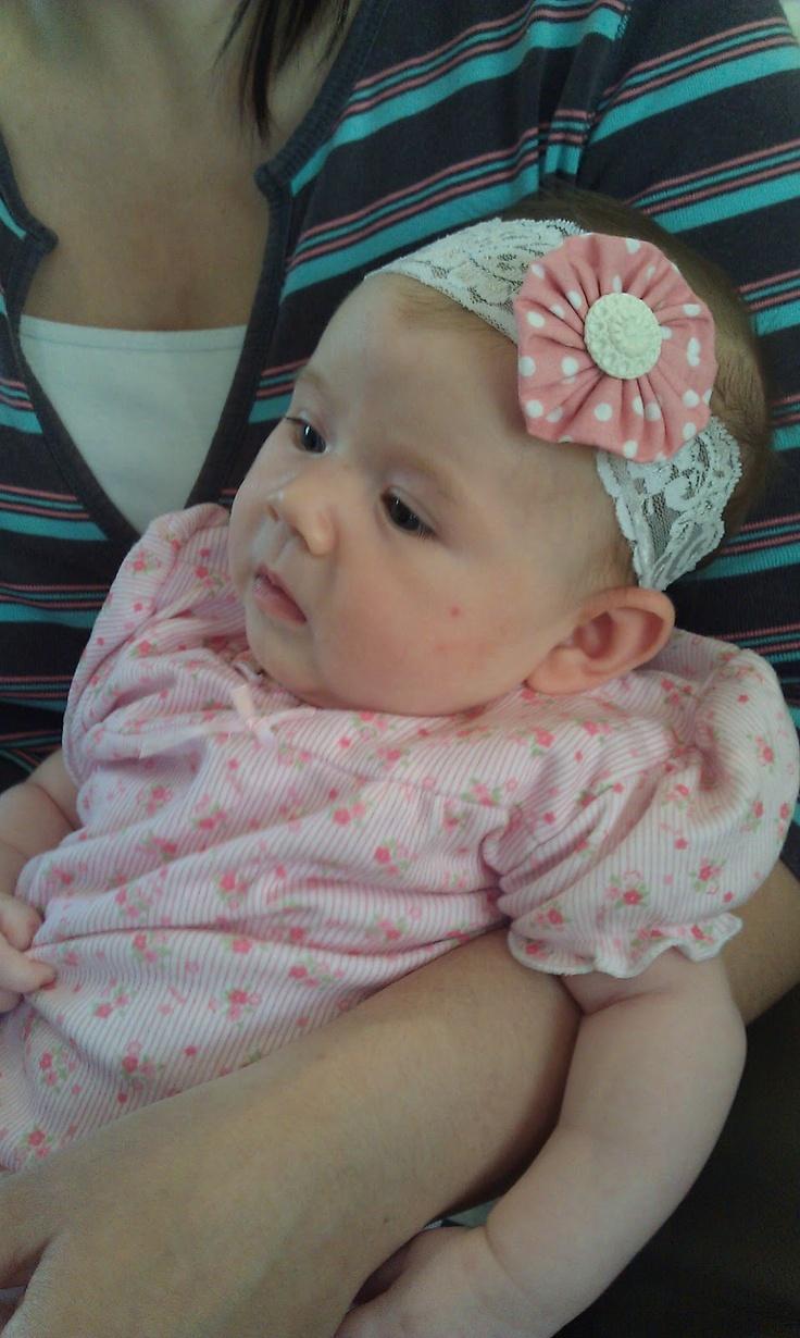 paws & re-thread: Baby headband tutorial