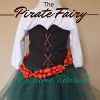 Zarina, The Pirate Fairy Costume Tutorial: The Shirt