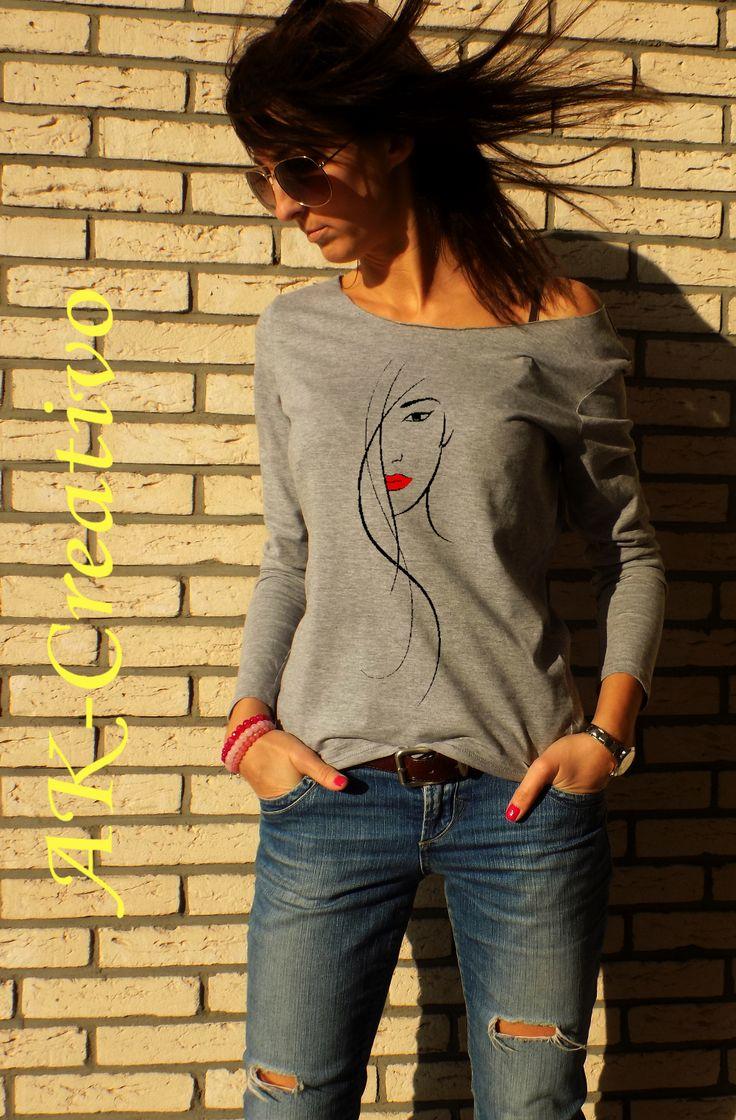 "t-shirt ""beauty"" - AK-Creativo"