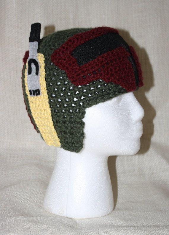 Nate's son 1 - Star Wars Boba Fett EASY Crochet Pattern - Infant, Child, & Adult Sizes. Sale - Buy 2 patterns, GET 1 FREE.