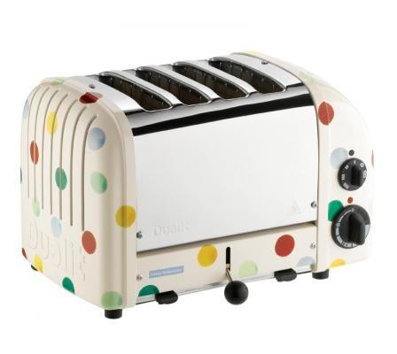 4 slot Emma Bridgewater toaster Emma Bridgewater Toaster | Classic Range | Breakfast | Dualit