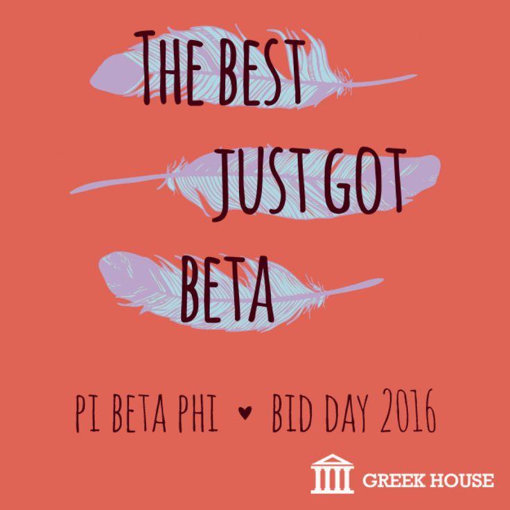 Pi Beta Phi Bid Day T-Shirt Design Gallery | Greek House | Pi Beta Phi | Bid Day | Sisterhood | Sorority | Rush | Recruitment | Sisters | Greek Life | T-Shirt