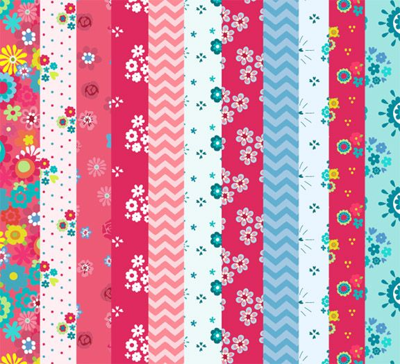 Colorful Origami Paper Sheets Free Download