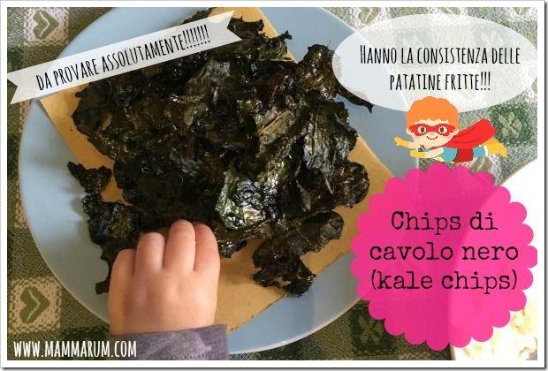 Mammarum: Chips di cavolo nero al forno (kale chips)