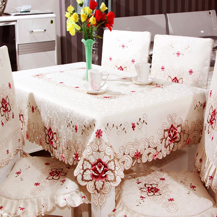 Cheap Towel Warmer, Buy Quality Towel Rack With Hooks Directly From China  Towel Lot Suppliers: Pastoral Printed Floral Table Cloth Chair Cover Set  Rectangle ...