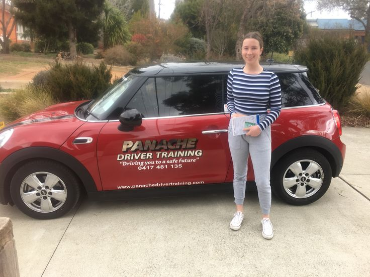 We would like to say congratulations to Olivia for passing her comp 22 (driving test) in our  F56 Mini Cooper, Great work see you on the Defensive driving course. :) http://www.panachedrivertraining.com/advanced-defensive-driving-course.html