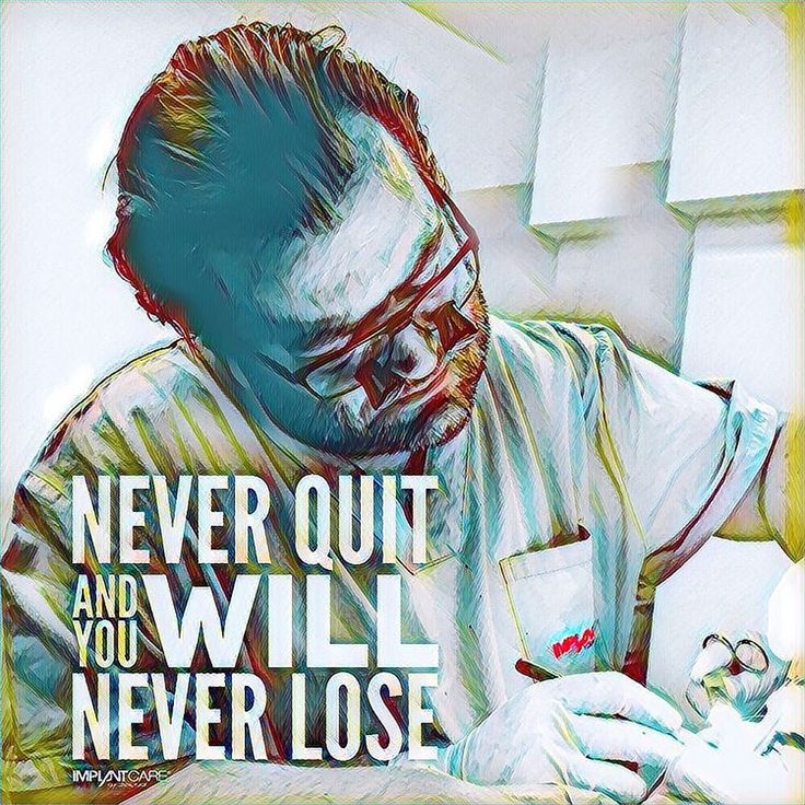 #implantcare #wien #yourdentalplace #quotes #lifequotes #neverquit #and #you #will #neverlose #doctor #festenburg #dentist #amazing #surgery #silence #instagood #instamood #love #smile #workhard...