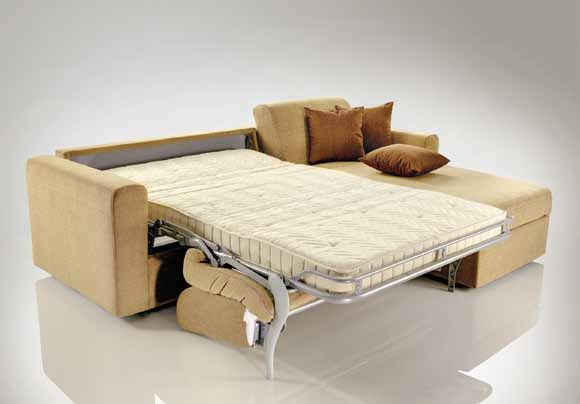 Corner sofa opened » Stunning Sleeper Sofa-Beds by Xdesign