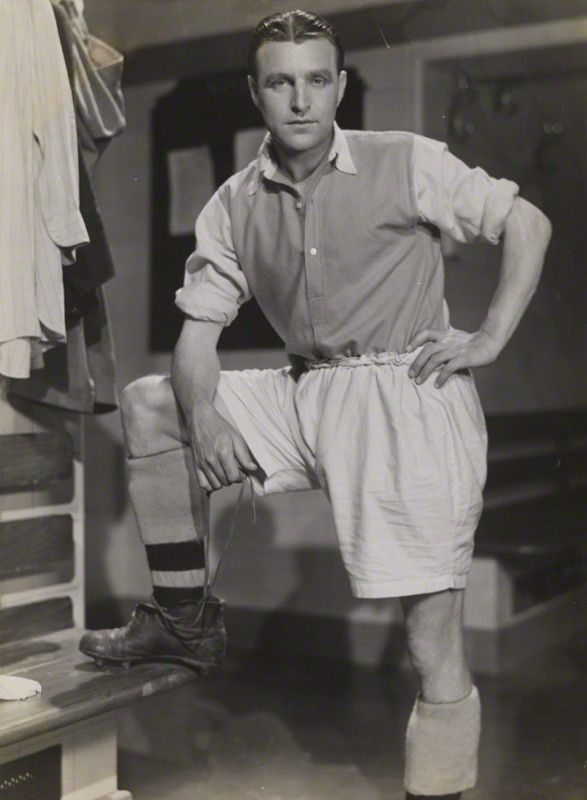 Eddie Hapgood. Full Back. Born in Bristol in 1908, Captained Arsenal & England in the 1930's. made (393) appearances for Arsenal from 1927-1944. Goals (0) . From 1930-1939 made 30 appearances for England Goals (0). Captained England 21 times.