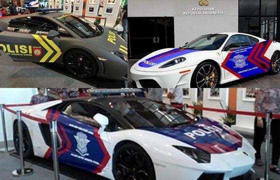 Mobil Sport Milik Polisi Indonesia Gak Kalah Dengan Dubai