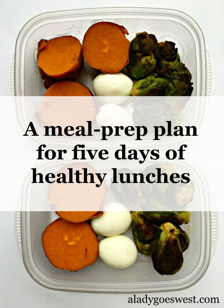 I always love Ashley's blog but this is something I MUST remember. Meal prepping my lunches always feels like such a chore!  ---- Meal-prep plan for five days of healthy lunches by A Lady Goes West