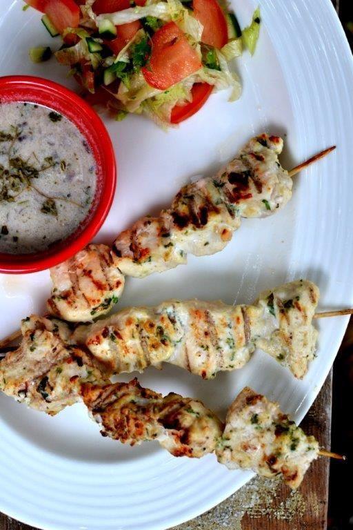 Chicken Reshmi Kebab