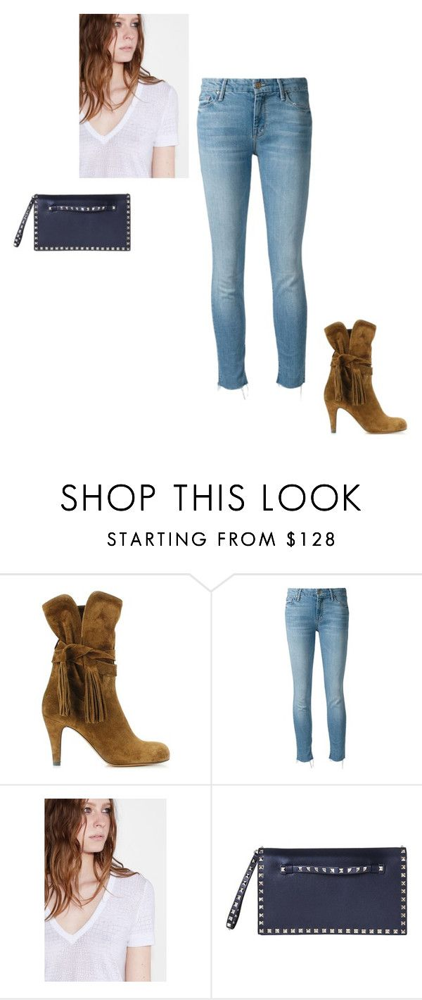 """""""Styling Mrs Oliver Weekend"""" by stylingmrsoliver on Polyvore featuring Chloé, Mother, Zadig & Voltaire and Valentino"""