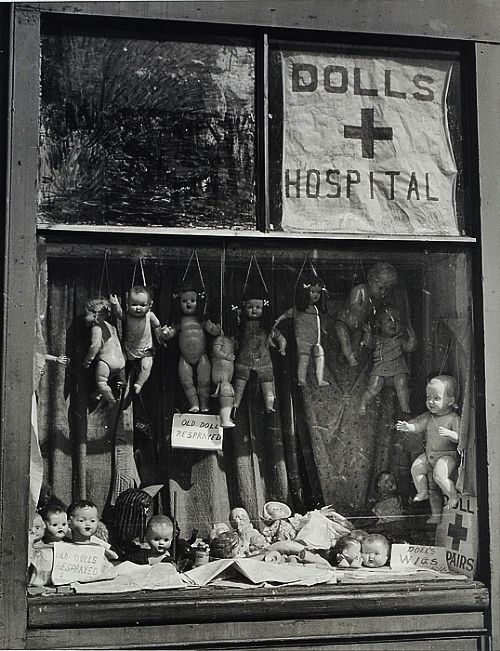 Max Dupain- Dolls Hospital