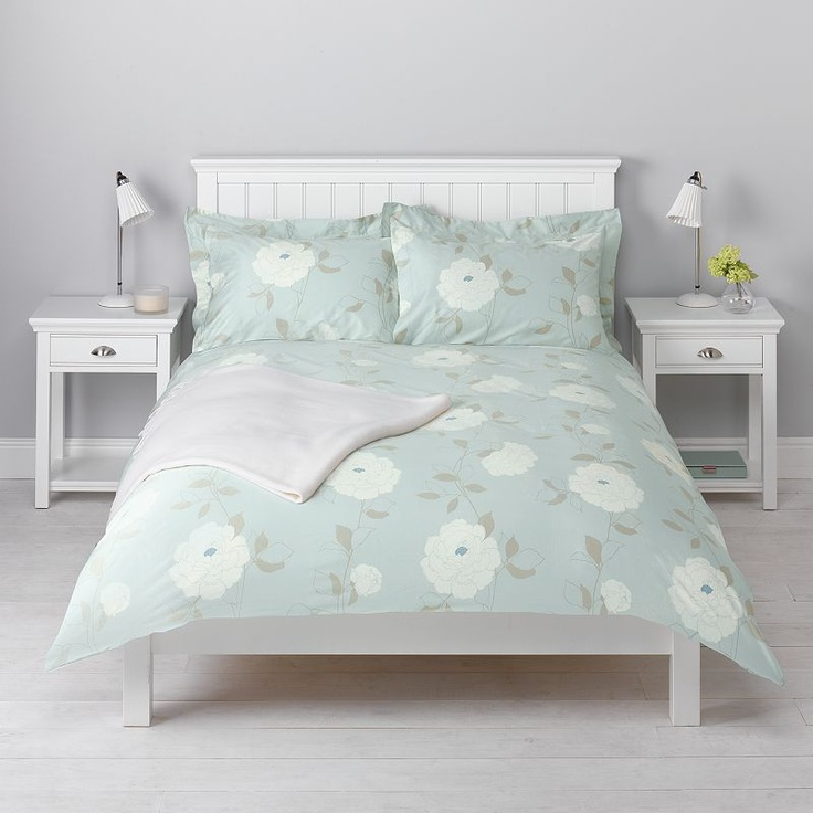 john lewis peony duvet covers eau de nil ma maison. Black Bedroom Furniture Sets. Home Design Ideas
