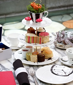 The new Mad Hatter's Afternoon Tea at Sanderson