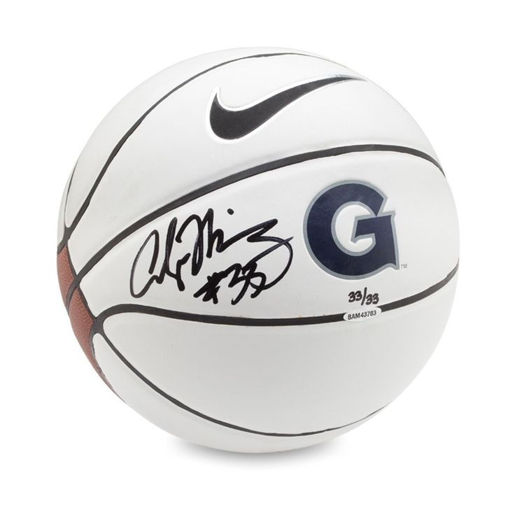 ALONZO MOURNING Autographed Nike Georgetown Basketball UDA LE 33 - Game Day Legends