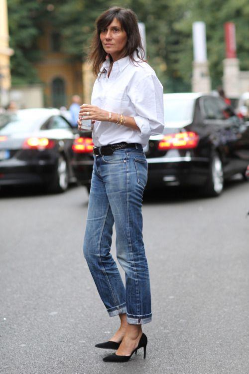 Emmanuelle Alt - simple but chic