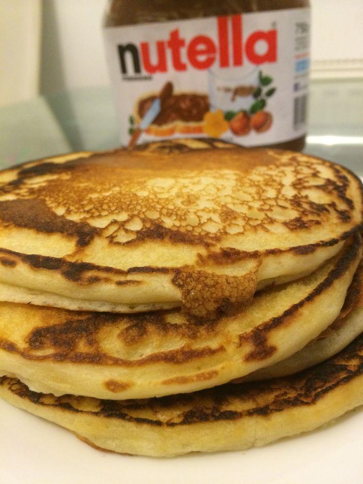 La mejor receta de las famosas tortitas americanas, Los Originales Pancakes Americanos.